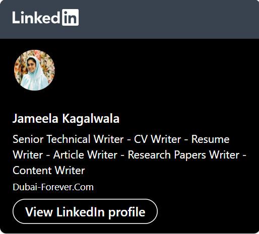 Jameela LinkedIn Profile URL