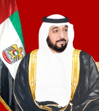 Sheikh Khalifa Bin Zayed Al-Nahyan Crown President of the United Arab Emirates
