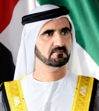 Sheikh Mohammed Bin Rashid Al Maktoum Vice President and Prime Minister of UAE and Ruler of Dubai