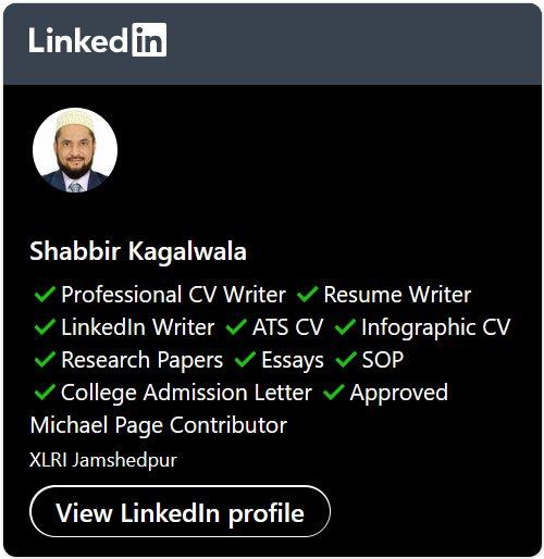 Shabbir LinkedIn Profile URL